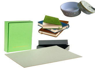 Mixed Pulp Material Book binding paper grey cardboard sheet / roll for box