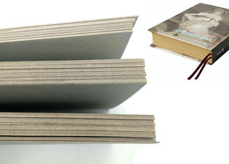 Mixed Paper Pulp Grey Board / Grey Chipboard / Gris Carton For Book Cover
